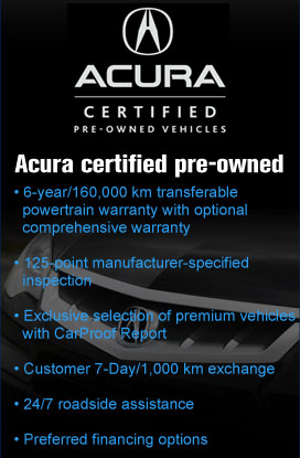 Certified Acuras for sale in Nova-Scotia